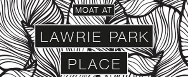 Moat at Lawrie Park Place, Sydenham, London, SE26